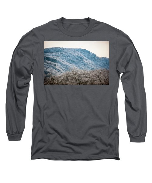 Frost On The Mountain Long Sleeve T-Shirt