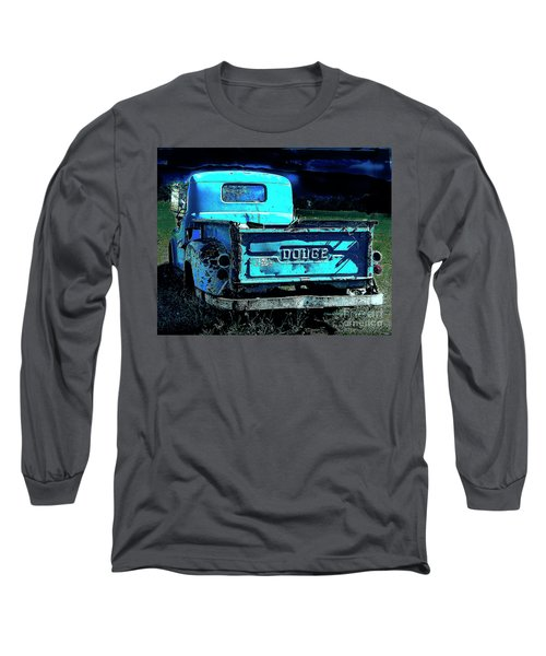 Green Dodge Long Sleeve T-Shirt
