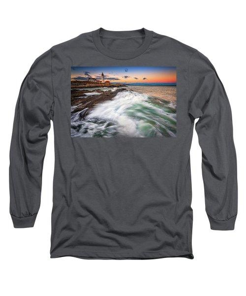 High Tide At Dusk Long Sleeve T-Shirt