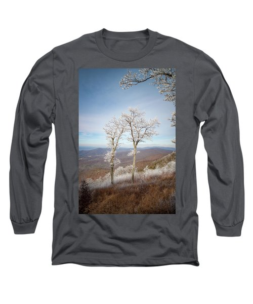 Hoarfrost Gathers Long Sleeve T-Shirt