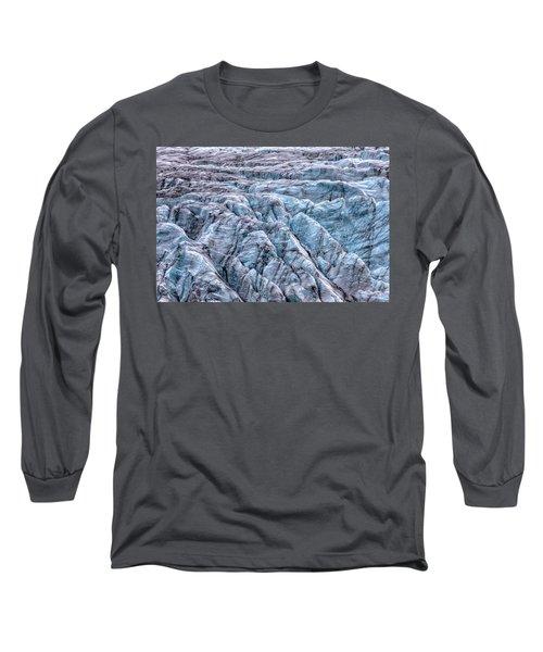 Iceland Glacier  Long Sleeve T-Shirt