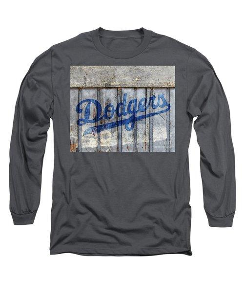 La Dodgers Rustic Long Sleeve T-Shirt