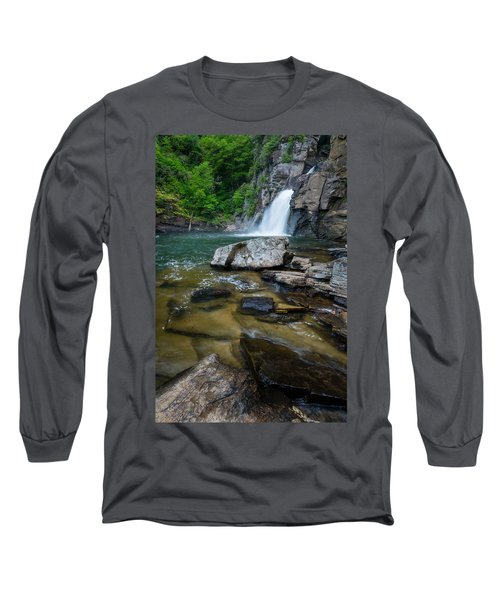 Linville Gorge - Waterfall Long Sleeve T-Shirt