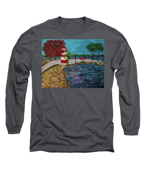 Mount Dora Lighthouse Long Sleeve T-Shirt