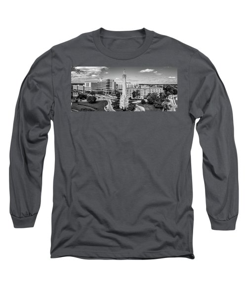 Long Sleeve T-Shirt featuring the photograph North Point Tower by Randy Scherkenbach