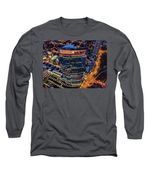 Long Sleeve T-Shirt featuring the photograph Northwestern Mutual Tower by Randy Scherkenbach