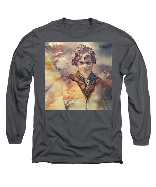 On Eagles Wings Long Sleeve T-Shirt