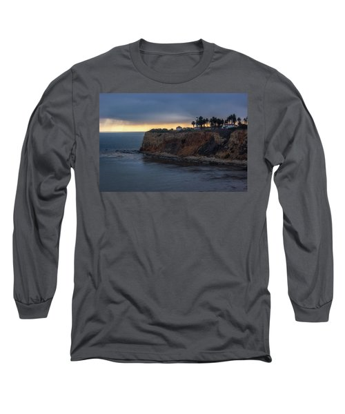 Point Vicente Lighthouse At Sunset Long Sleeve T-Shirt