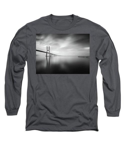 Ponte De Vasco Da Gama, Lisbon Long Sleeve T-Shirt