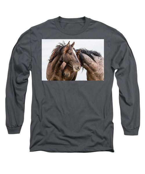 Long Sleeve T-Shirt featuring the photograph Secrets by Mary Hone