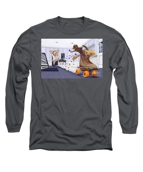 The Case Of The Missing Blueberries Long Sleeve T-Shirt