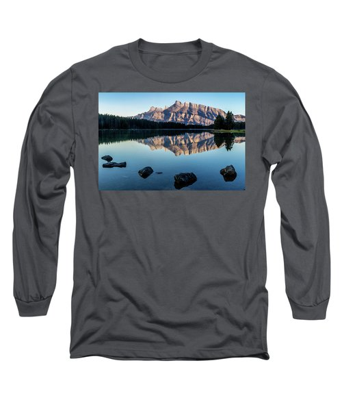 Two Jack Lake, Banff National Park, Alberta, Canada Long Sleeve T-Shirt