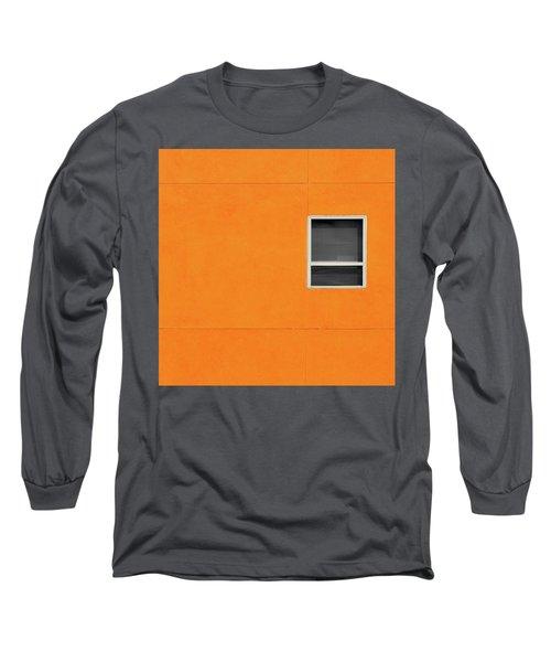 Very Orange Wall Long Sleeve T-Shirt