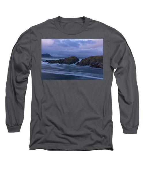 Waves At The Shore Long Sleeve T-Shirt