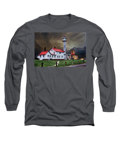 Whitefish Point Lighthouse Long Sleeve T-Shirt
