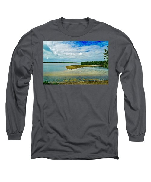 Wildlife Refuge On Sanibel Island Long Sleeve T-Shirt