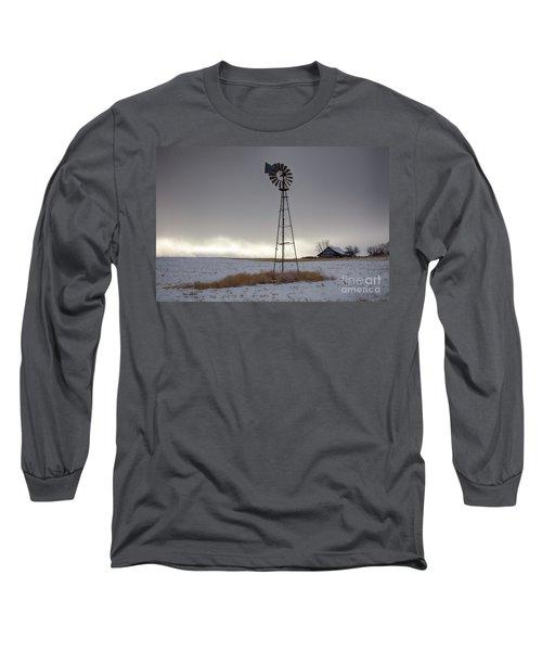 Winter Light Long Sleeve T-Shirt