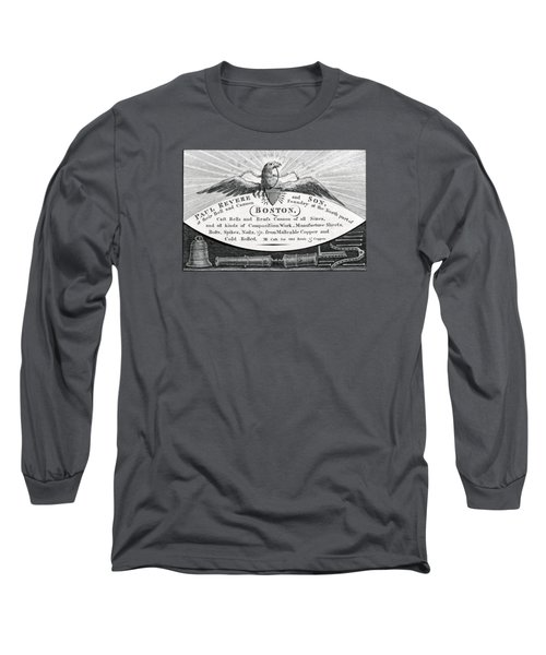 1800 Paul Revere And Son Long Sleeve T-Shirt