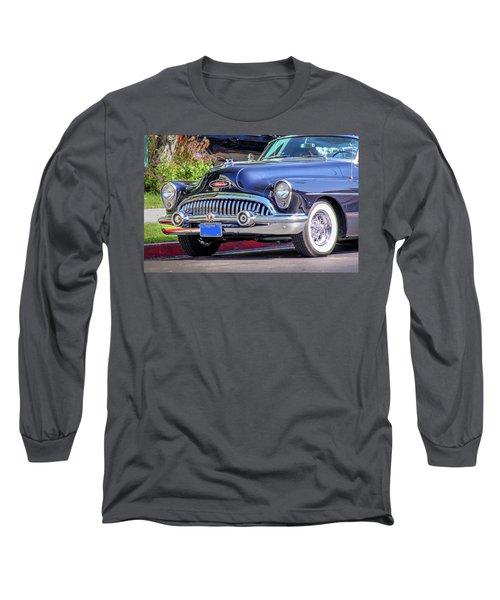 1953 Buick Skylark - Chrome And Grill Long Sleeve T-Shirt