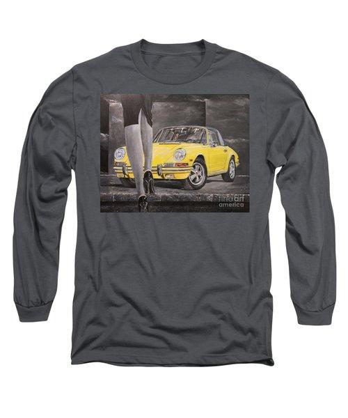 1968 Porsche 911 Targa Long Sleeve T-Shirt