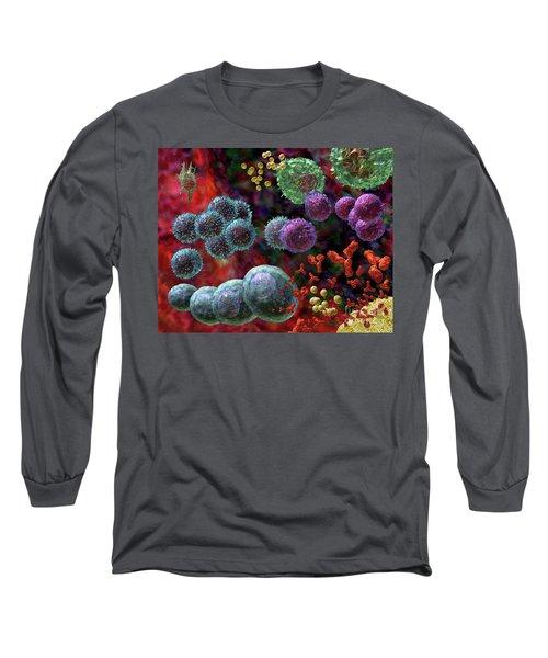 Immune Response Antibody 4 Long Sleeve T-Shirt