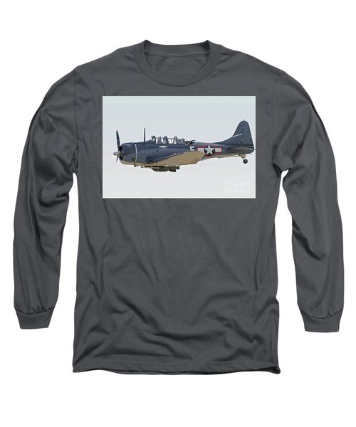 Vintage World War II Dive Bomber Long Sleeve T-Shirt