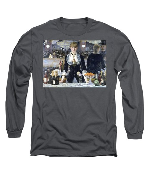 A Bar At The Folies Bergere Long Sleeve T-Shirt