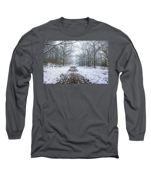 30/01/19  Rivington. Lower Barn. Arboretum Path. Long Sleeve T-Shirt