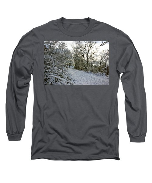 30/01/19  Rivington. Top Path Below The Pigeon Tower. Long Sleeve T-Shirt
