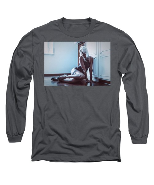 Long Sleeve T-Shirt featuring the photograph 3862 by Traven Milovich