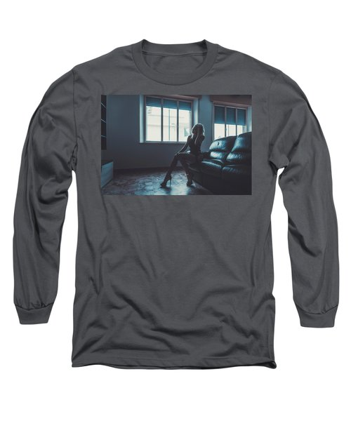 Long Sleeve T-Shirt featuring the photograph 3913 by Traven Milovich