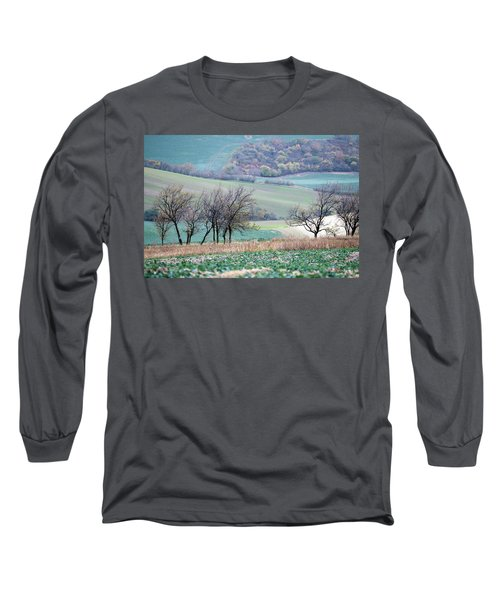 Long Sleeve T-Shirt featuring the photograph Autumn In South Moravia 8 by Dubi Roman