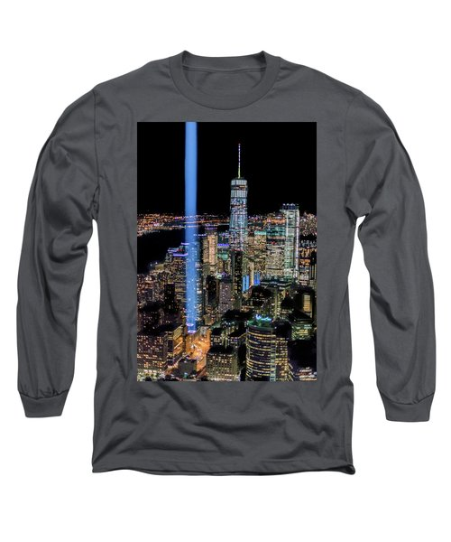 911 Lights Long Sleeve T-Shirt