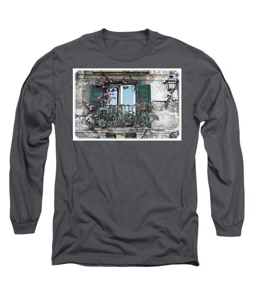 A Balcony In Palermo Long Sleeve T-Shirt
