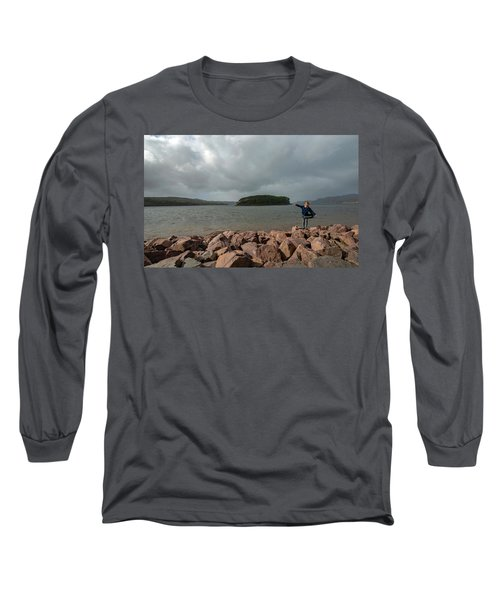 A Charming Little Girl In The Isle Of Skye 1 Long Sleeve T-Shirt