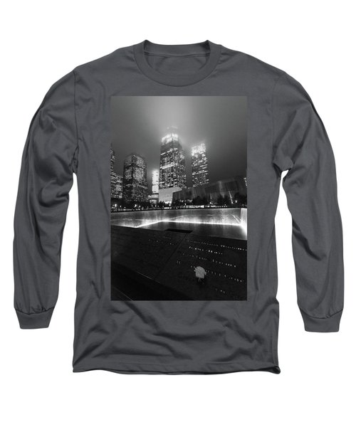 A Rose In The Darkness Long Sleeve T-Shirt