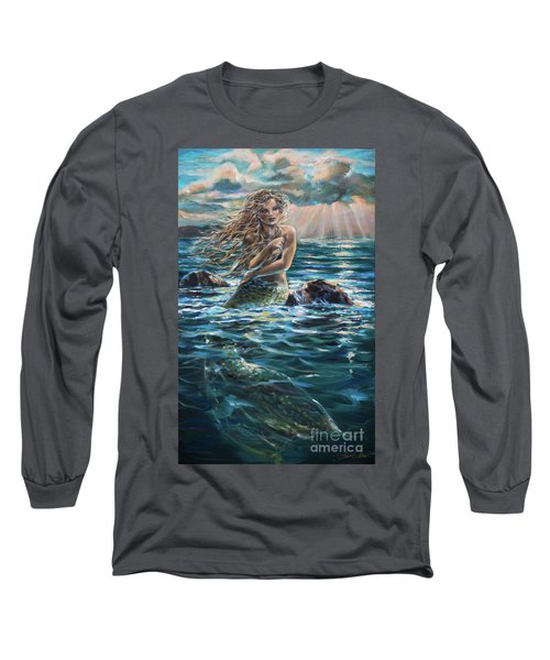 A Ship In The Distance Long Sleeve T-Shirt