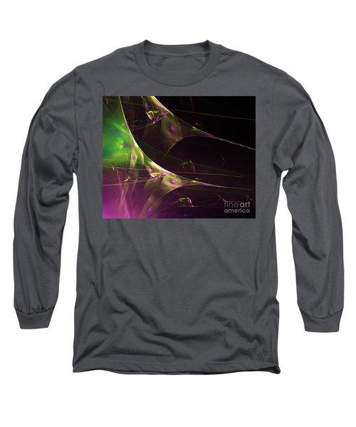 A Space Aurora Long Sleeve T-Shirt