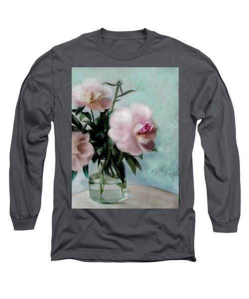A Vase Of Peonies Long Sleeve T-Shirt