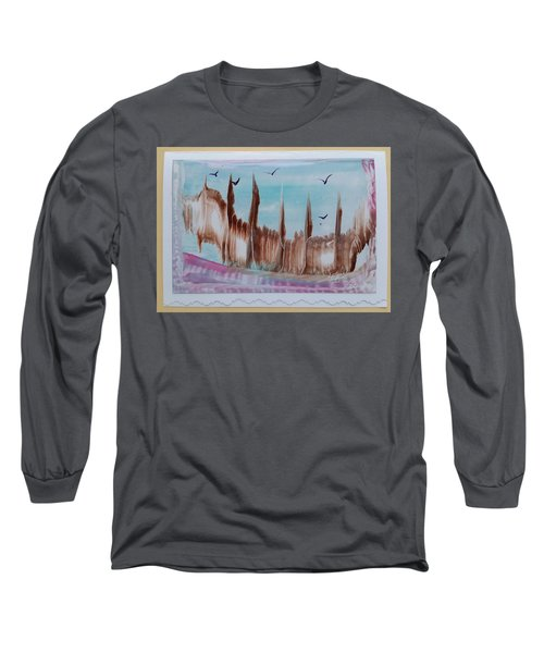 Abstract Castles Long Sleeve T-Shirt