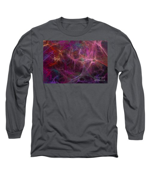 Abstract Colorful Fireworks Long Sleeve T-Shirt