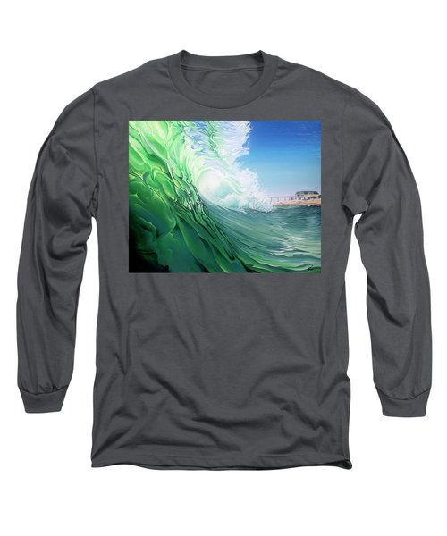 Long Sleeve T-Shirt featuring the painting Access 10 by William Love