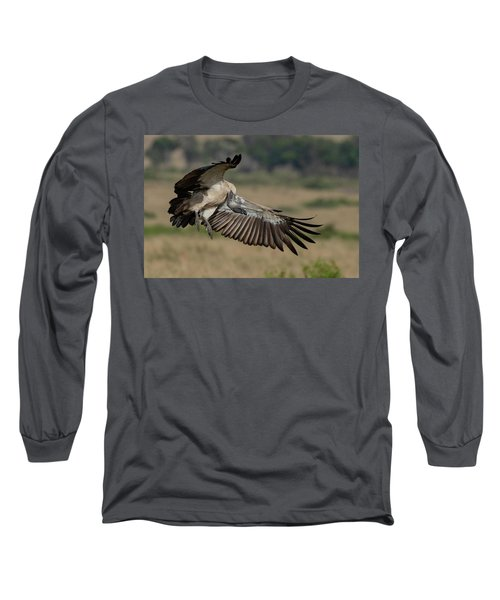 African White-backed Vulture Long Sleeve T-Shirt