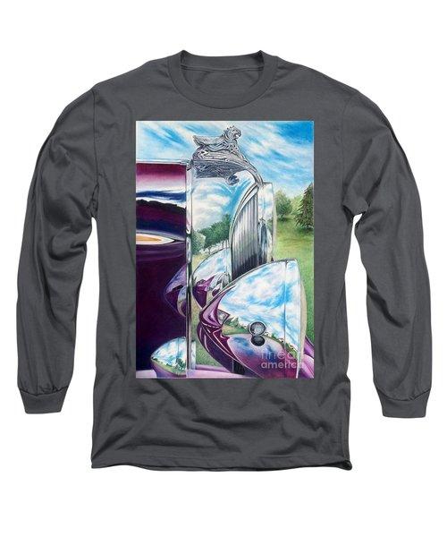 Aged Elegance Long Sleeve T-Shirt