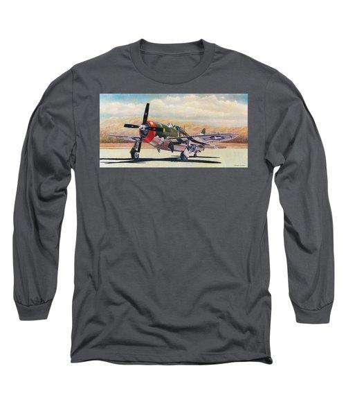 Airshow Thunderbolt Long Sleeve T-Shirt