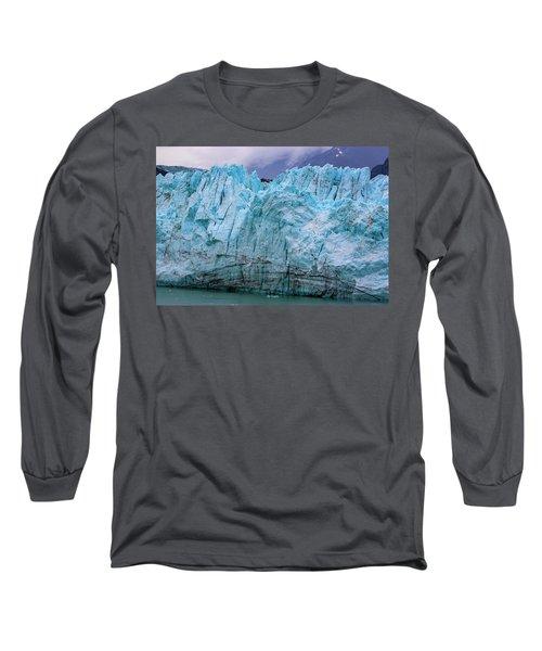 Alaskan Blue Glacier Ice Long Sleeve T-Shirt