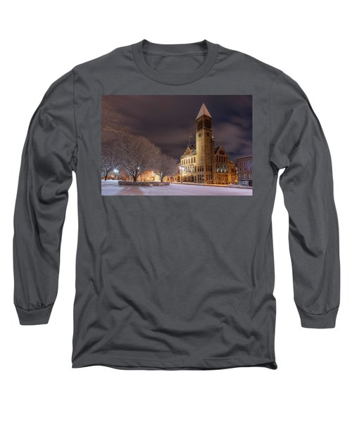 Albany City Hall Long Sleeve T-Shirt