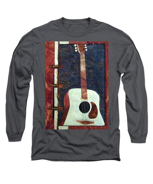 All That Jazz Guitar Long Sleeve T-Shirt