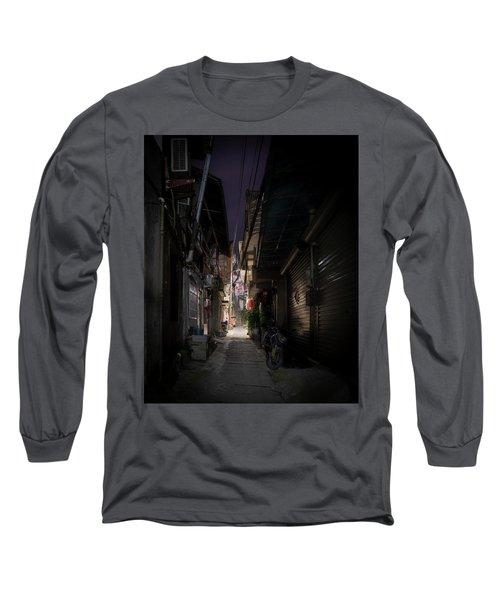 Alleyway On Old West Street Long Sleeve T-Shirt