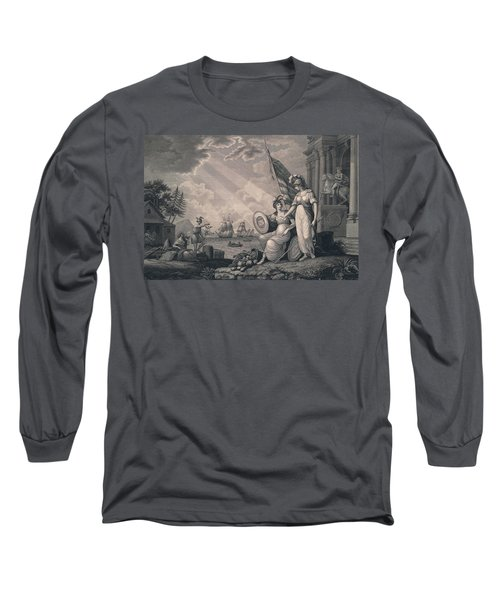 America Guided By Wisdom Long Sleeve T-Shirt
